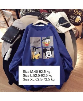 Cute Cartoon Cotton Sweatshirt 35% Discount