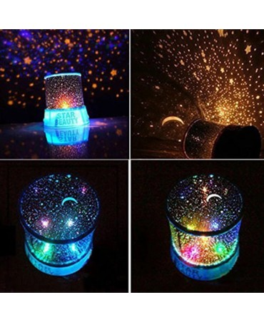 Starry Sky Night Light Bedroom Lamp