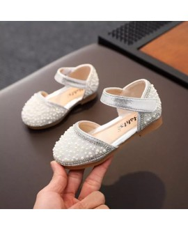 little Baby pearl peasy shoes